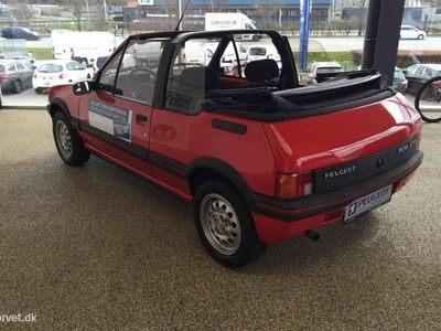 brugt Peugeot 205 CTi 1,9 105HK Cabr CTi 1,9 103HK Cabr.