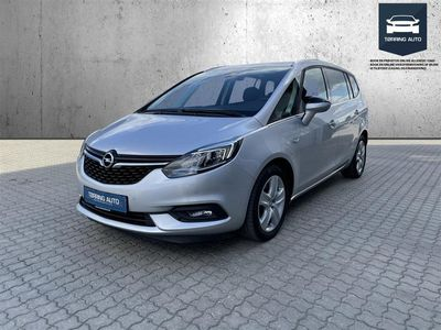 brugt Opel Zafira Tourer 1,4 Turbo Enjoy 140HK 6g - Personbil - Sølvmetal - 7 pers.