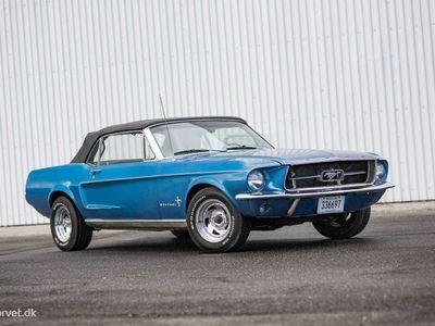brugt Ford Mustang GT 6,4 V8 320HK Cabr.