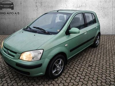 brugt Hyundai Getz 1,3 82HK 5d - Personbil - grønmetal