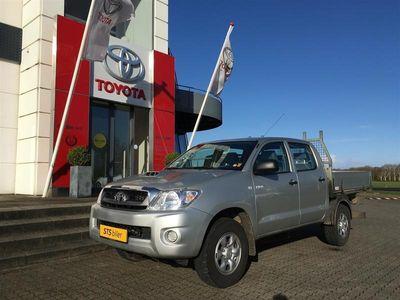 brugt Toyota HiLux 2,5 TD 4WD Mandsk.v. 102HK Msk.Vogn-Lad