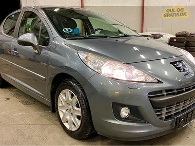 brugt Peugeot 207 1,6HDi 92hk 23,8km/l