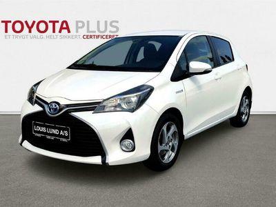 brugt Toyota Yaris Hybrid 1,5 Hybrid Premium E-CVT 100HK 5d Trinl. Gear A+++