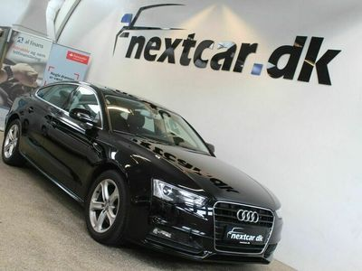 brugt Audi A5 Sportback 2,0 TDi 150 S-line Multitr.