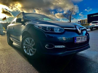 brugt Renault Mégane 1,5 dCi 110 Limited Edition ST EDC