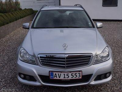 usado Mercedes C200 T 2,0 CDI BlueEfficiency 136HK Stc 7g Aut.