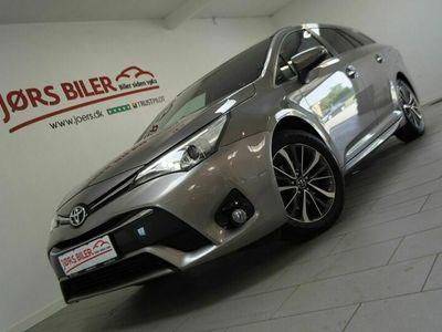 brugt Toyota Avensis 1,8 VVT-i T2 Premium Touring Sports