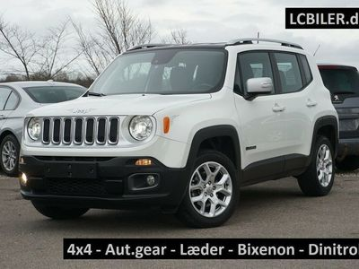 brugt Jeep Renegade 1,4 M-Air 170 Limited aut. AWD