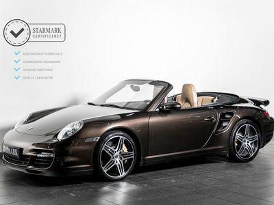 brugt Porsche 911 Turbo Cabriolet 3,6 Tiptr.
