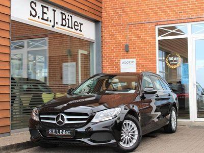 brugt Mercedes C200 d T 1,6 Bluetec 136HK Stc 6g A+