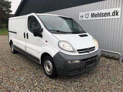 brugt Opel Vivaro L2 1,9 DTI 100HK Van