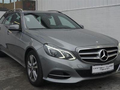 gebraucht Mercedes E220 2,2 CDI BlueEfficiency Avantgarde 170HK Stc 7g Aut.