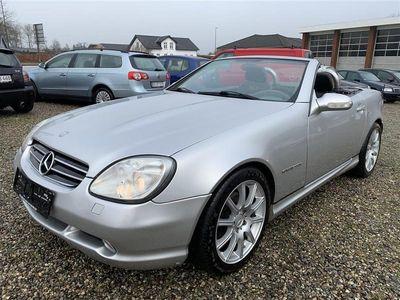 brugt Mercedes SLK230 2,3 Kompressor 193HK Cabr.