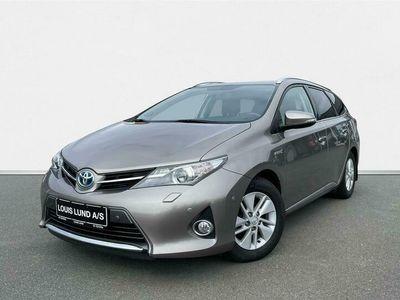 brugt Toyota Auris 1,8 VVT-I H2+ E-CVT 136HK Stc Aut. A++