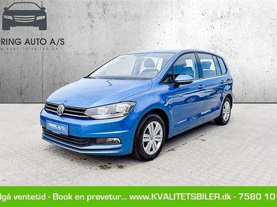 brugt VW Touran 1,2 TSI BMT Trendline 110HK 6g - Personbil - blåmetal - 7 pers.