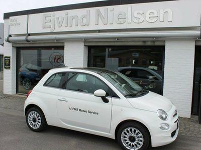 brugt Fiat 500 1,2 White