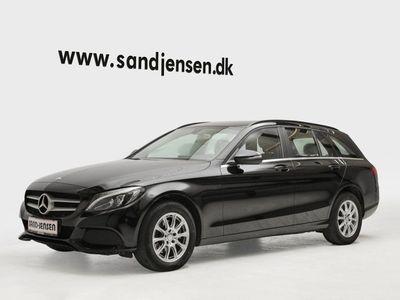 käytetty Mercedes C220 d 2,2 stc. aut.