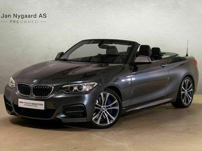 brugt BMW M235 3,0 Cabriolet aut.