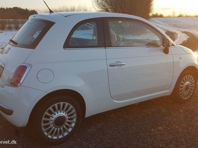 brugt Fiat 500 1,2 Lounge 69HK 3d