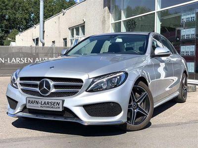 brugt Mercedes C220 d 2,1 D 9G-Tronic 170HK 9g Aut.