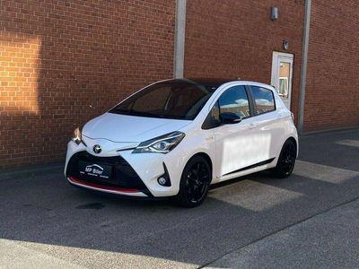 brugt Toyota Yaris 1,5 Hybrid H3 GR Sport Smart e-CVT