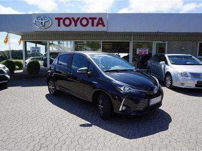 brugt Toyota Yaris 1,5 Hybrid H3 Y20 100HK 5d
