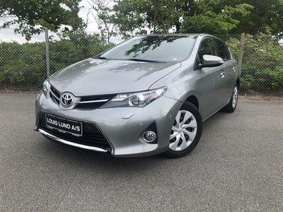 brugt Toyota Auris 1,6 Valvematic T2+ 132HK 5d 6g B