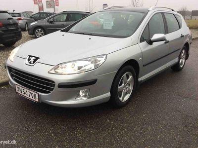 brugt Peugeot 407 SW 2,0 SR 136HK Stc