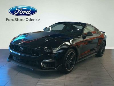brugt Ford Mustang 5,0 Ti-VCT Mach 1 450HK 2d 6g