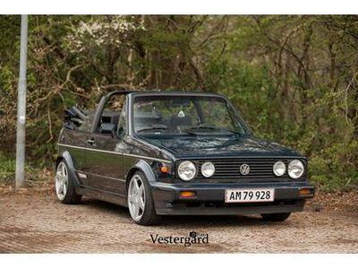 brugt VW Golf Cabriolet 1,8 1 karmann