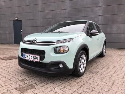 brugt Citroën C3 1,6 Blue HDi Iconic Limited 100HK 5d