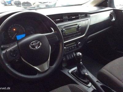 brugt Toyota Auris 1,3 VVT-I T1+ 99HK Stc 6g