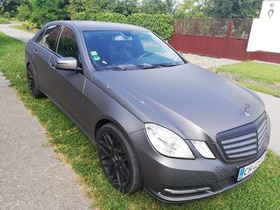 usado Mercedes E200 1 CDI BlueEfficiency 136HK Aut.