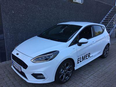 brugt Ford Fiesta 1,0 EcoBoost Hybrid ST-Line Start/Stop 125HK 5d 6g A+