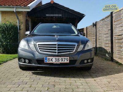 brugt Mercedes E200 W212st.car *nypris*
