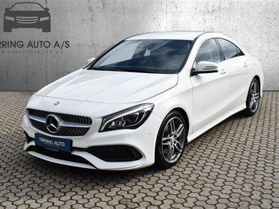 brugt Mercedes CLA250 2,0 211HK 4d 6g - Personbil - hvid