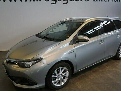 brugt Toyota Auris Touring Sports 18 Hybrid H2 Comfort 136HK Stc Aut.