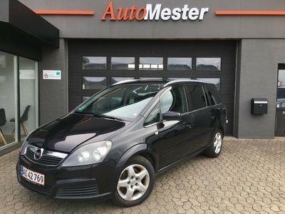 brugt Opel Zafira 1,9 CDTi 120 Limited 7prs