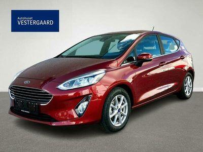 brugt Ford Fiesta 1,0 EcoBoost Hybrid B/EL Titanium Start/Stop 125HK 5d 6g