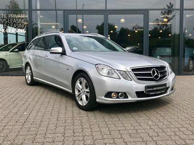 brugt Mercedes E350 0 CDi st.car aut. BE