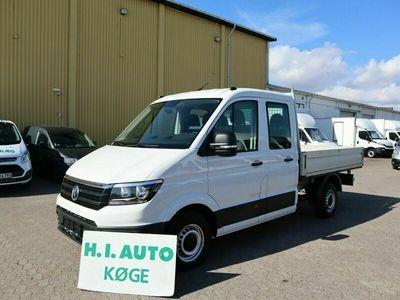 brugt VW Crafter 35 2,0 TDi 140 Mandskabsvogn m/lad L3
