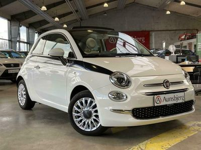 brugt Fiat 500C 0,9 TwinAir Turbo Lounge 80HK Cabr.