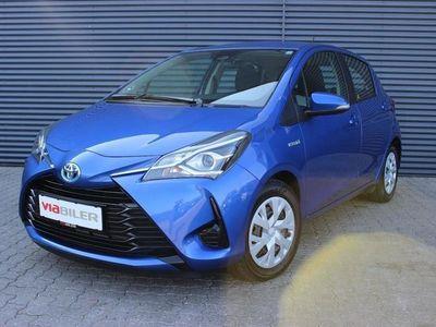 brugt Toyota Yaris Hybrid 1,5 B/EL Comfort Safety Sense E-CVT 100HK 5d Trinl. Gear