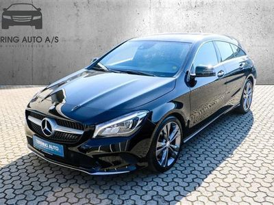 brugt Mercedes CLA220 Shooting Brake 2,1 CDI 7G-DCT 177HK Stc 7g Aut. - Personbil - sort