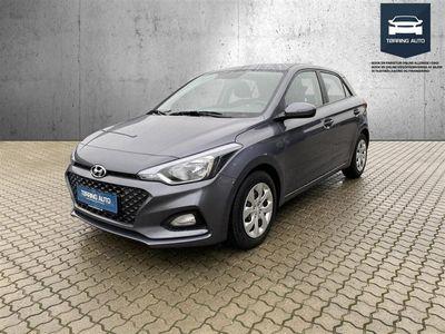 brugt Hyundai i20 1,25 Trend 84HK 5d - Personbil - Grå