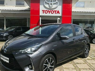 brugt Toyota Yaris 1,5 Hybrid H3 Smartpakke E-CVT 100HK 5d Trinl. Gear