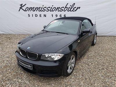 brugt BMW 135 Cabriolet i 3,0 306HK 6g