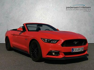 brugt Ford Mustang GT 5,0 Ti-VCT 421HK Cabr. 6g Aut.
