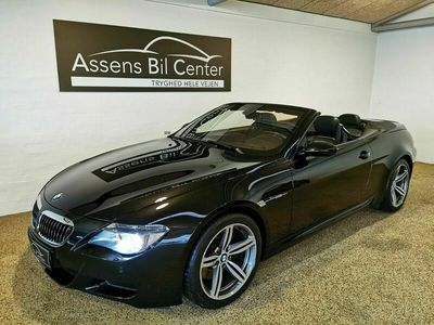 brugt BMW M6 Cabriolet 5,0 aut.