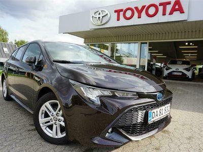 brugt Toyota Corolla Touring Sports 1,8 Hybrid H3 Business Smart E-CVT 122HK Stc Trinl. Gear
